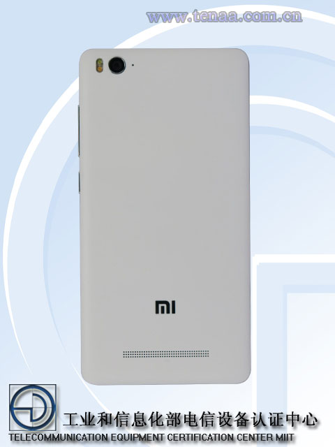 XIAOMI MI4 C LEAKED ON TENAA
