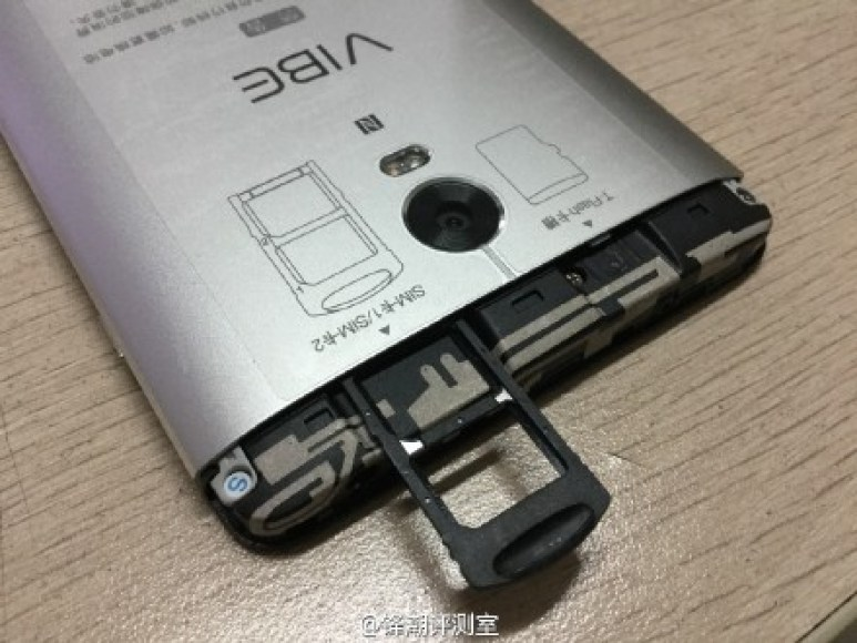 how to insert SIM inside Lenovo Vibe P1 Pro