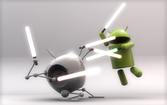 iOS VS android war featured images