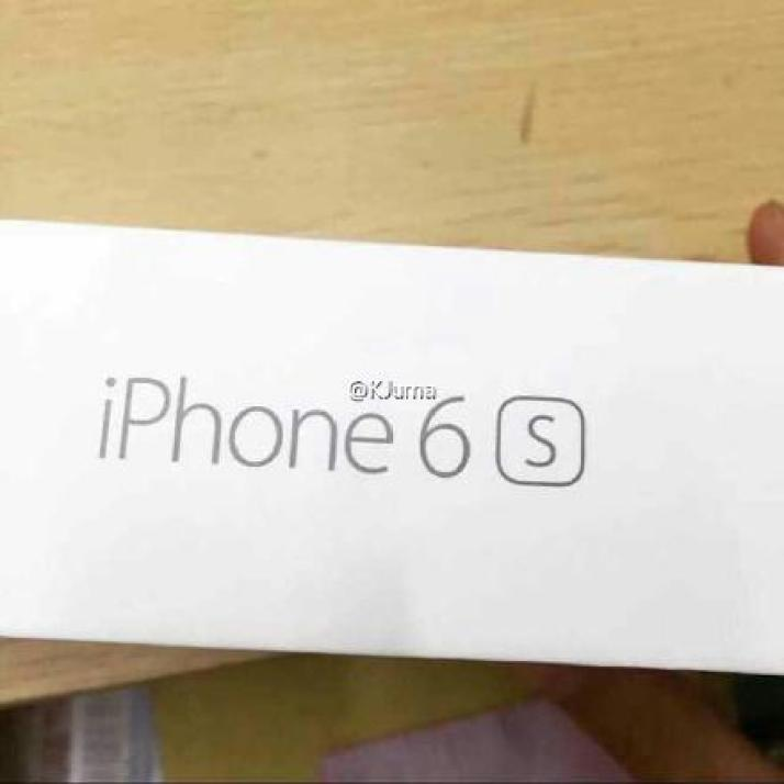 iPhone 6s side box