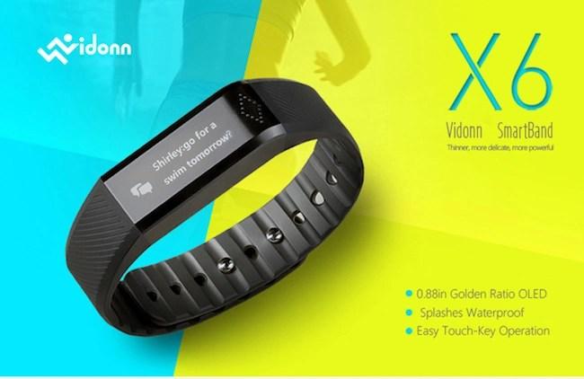 Vidonn X6 Smartband
