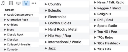 List of genres