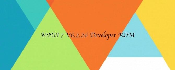 MIUI 7 latest update