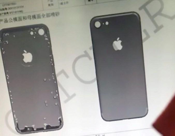iPhone 7 Chasis image
