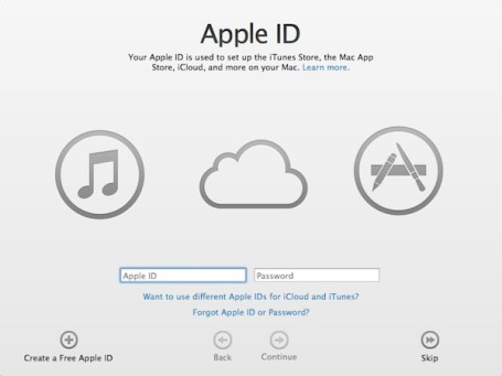 Change Apple ID password or cretae new one