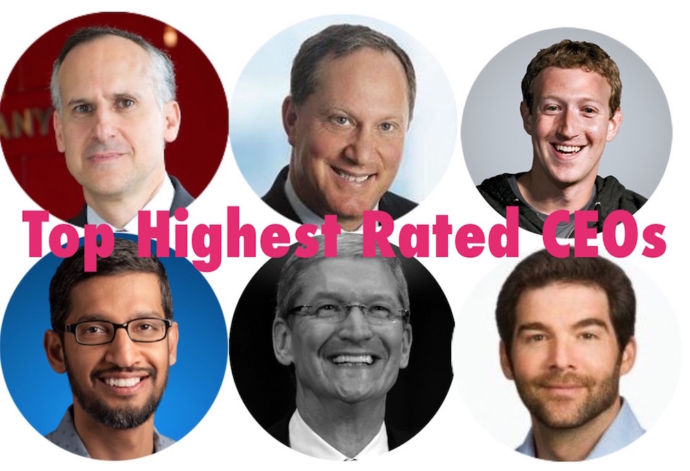 HIghest Rated CEOs top