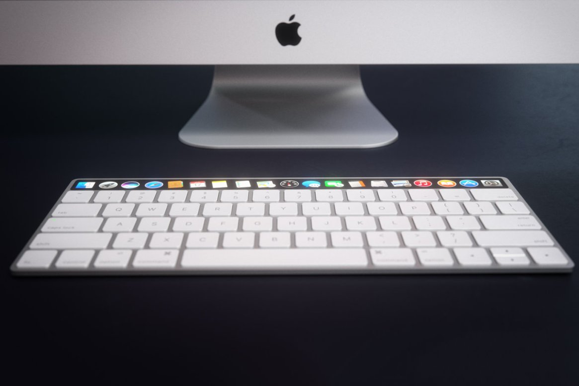 IMAC Keyboard with OLED Touch Bard 1