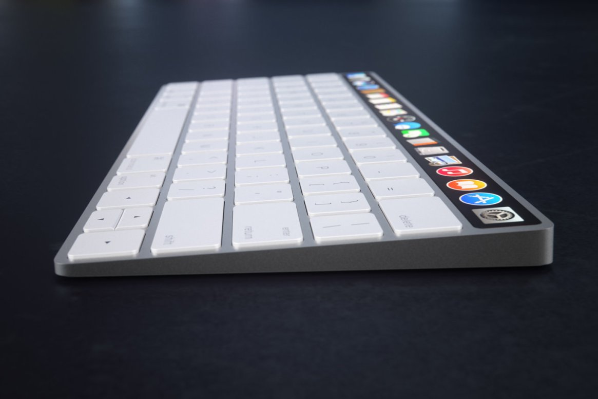 IMAC Keyboard with OLED Touch Bard 9