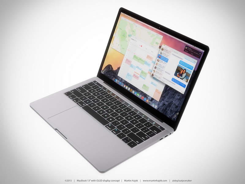 MacBook with OLED Touch Bar 7