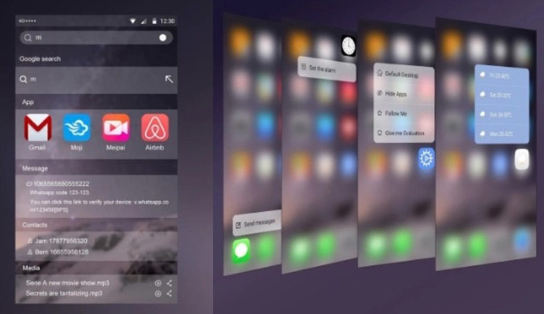 VSHARE I10 ANDROID LAUNCHER
