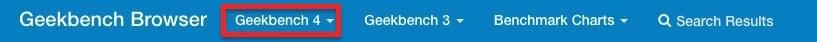 Geekbench New