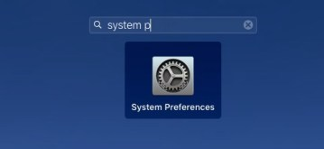 System Preferences in Launch Pad