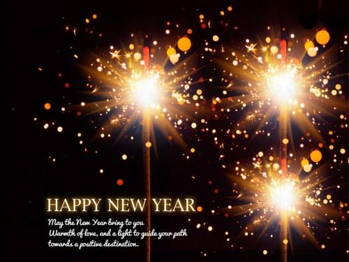 Medium Of Happy New Year 2016 Message
