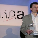David Cooper from Midas accepts the MIPA awarded for the PRO6