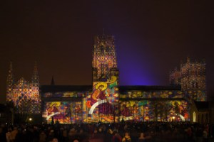 ETC London Durham Festival of Light lum131944004a 300x200 E/T/C UK sets new UK cathedral projection record