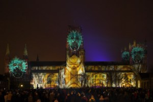 ETC London Durham Festival of Light lum131944417a 300x200 E/T/C UK sets new UK cathedral projection record