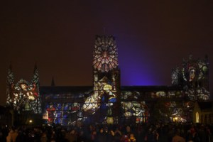 ETC London Durham Festival of Light lum131949309a 300x200 E/T/C UK sets new UK cathedral projection record