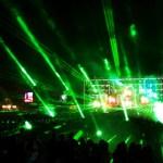 A visual punch line: Sunrise Festival uses MA VPU