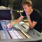 Zbigniew Hubner Theatre's head sound engineer Sebastian Kuźma and the PRO6
