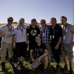 XL Video Glasto 2011 Projections Crew Photo(a)