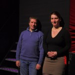 Die Effenaar technical manager Charles Konings and lighting designer Natasha Von Haaften
