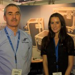5 Star's Keith Sykes and Frankie Farrow at PLASA 2012