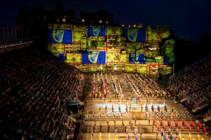  Projection Studio Edinburgh Tattoo 2102 Royal Standard(a)