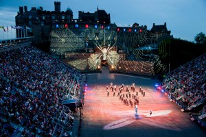 Projection Studio Edinburgh Tattoo 2102 Spider Man(a)