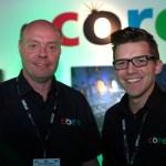 CORE Lighting MD Phil Ion (left) with Martin Lawrence who is running the new North American operation.