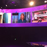 XL Video On Screen with BBC Wales General Election Coverage