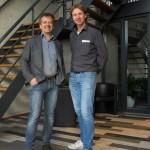 Stagelight's Jacco van der Heijden on the left and Controllux's Jeroen van Aalst on the right.