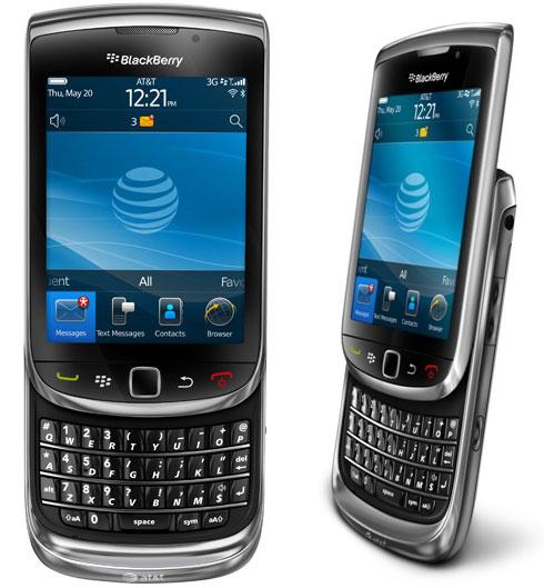 RIM releases BlackBerry Torch 9800