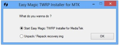 TWRP What do you want to do