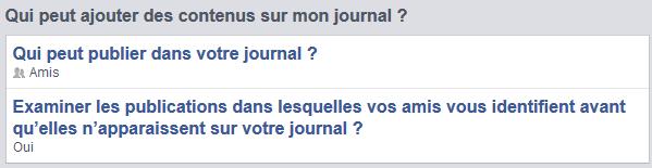 Gerer Les identifications Facebook