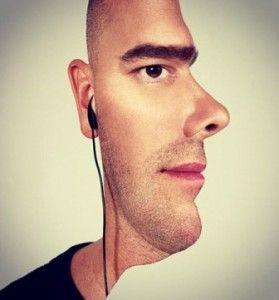 2 visages en un - profile whatsapp