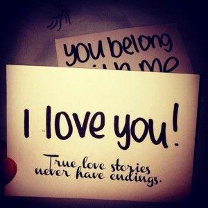 I love you - photo de profil whatsapp