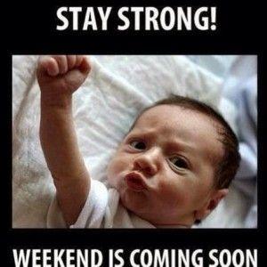 le weekend arrive - photo whatsapp