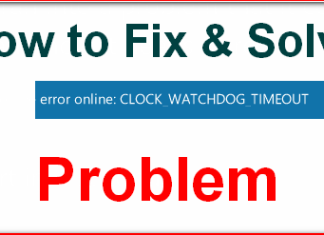 CLOCK_WATCHDOG_TIMEOUT