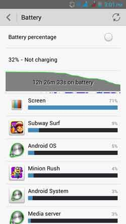 battery view