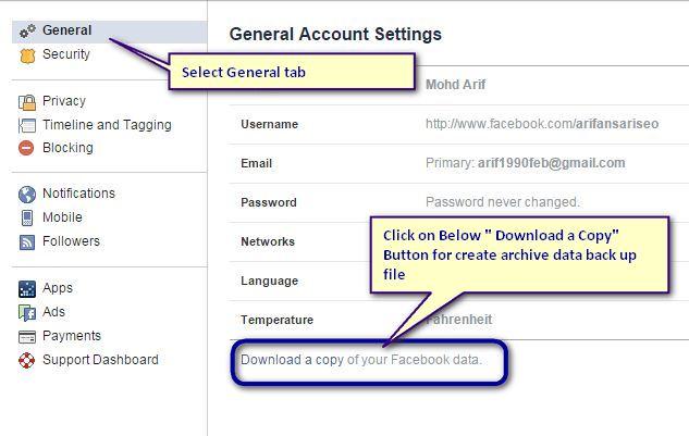 general-account-setting