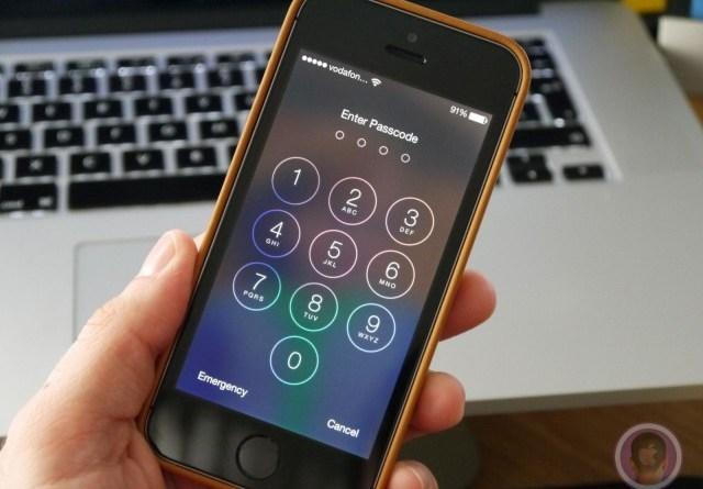 Hack iphone passcode
