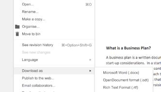 Create eBooks With Google Docs