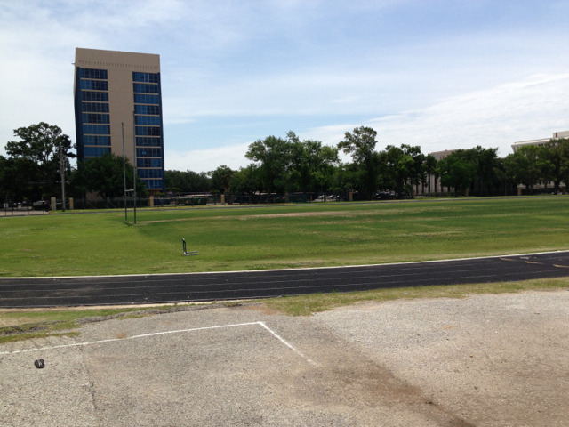 Our home! Lamar Track in Houston.