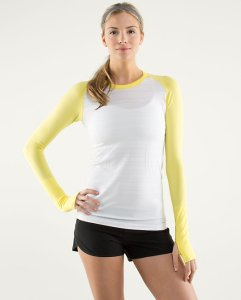 Run Swiftly Tech Long Sleeve shirt from Lululemon.