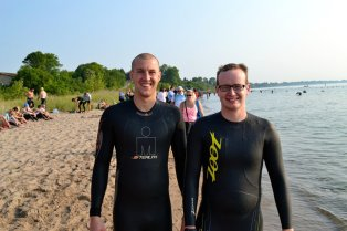 Ironman 70.3 Swim Start