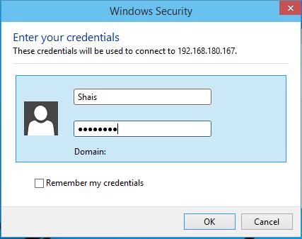 Remote Desktop Authentication