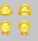 Create Anniversary Badge Inside Illustrator - Technig