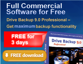 Free Paragon Drive Backup 9.0 Professional