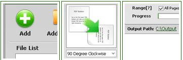 rotate pdf files