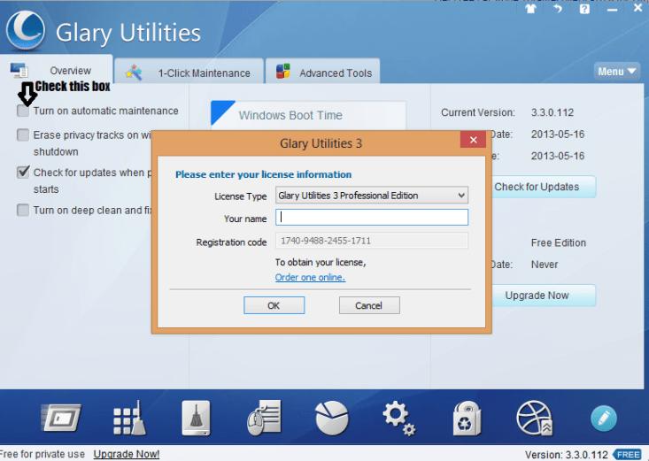 Glary Utilities 3 pro